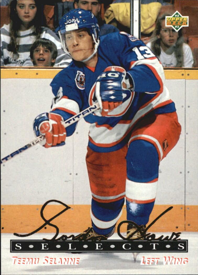 1992-93 Upper Deck Gordie Howe Selects #G15 Teemu Selanne
