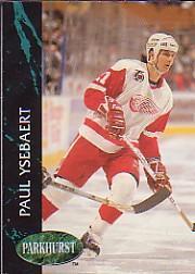 1992-93 Parkhurst Previews #PV1 Paul Ysebaert