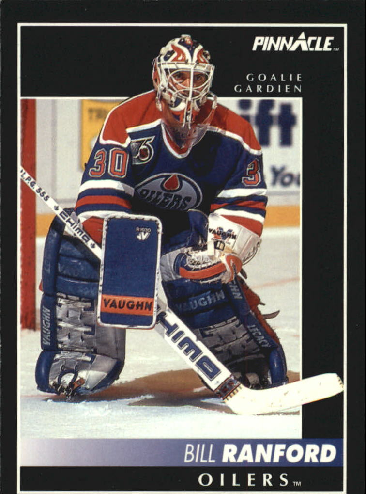 1992-93 Pinnacle French #4 Bill Ranford