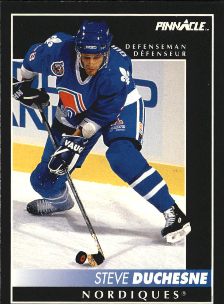 1992-93 Pinnacle French #320 Steve Duchesne