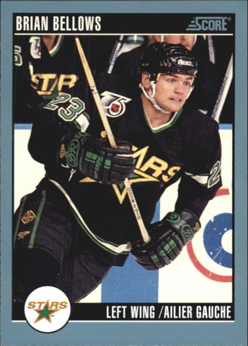 1992-93 Score Canadian #335 Brian Bellows