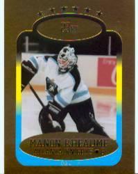 1993 Bleachers 23K Manon Rheaume #2 Manon Rheaume/Atlanta Knights