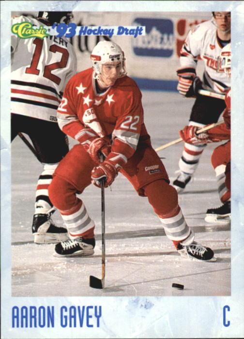 1993 Classic #21 Aaron Gavey