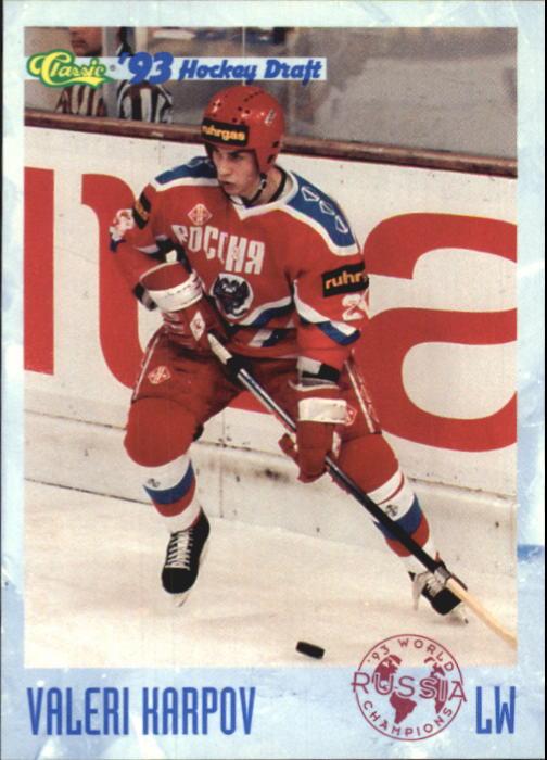 1993 Classic #90 Valeri Karpov
