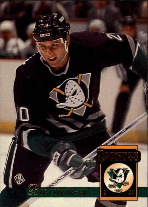 1993-94 Donruss #10 Bob Corkum
