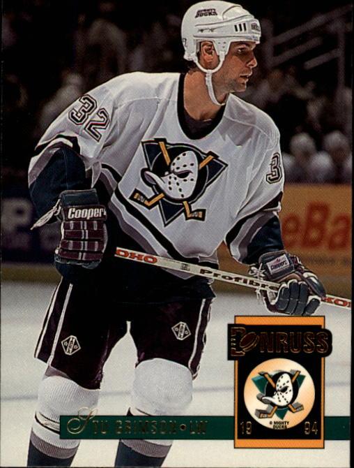 1993-94 Donruss #15 Stu Grimson