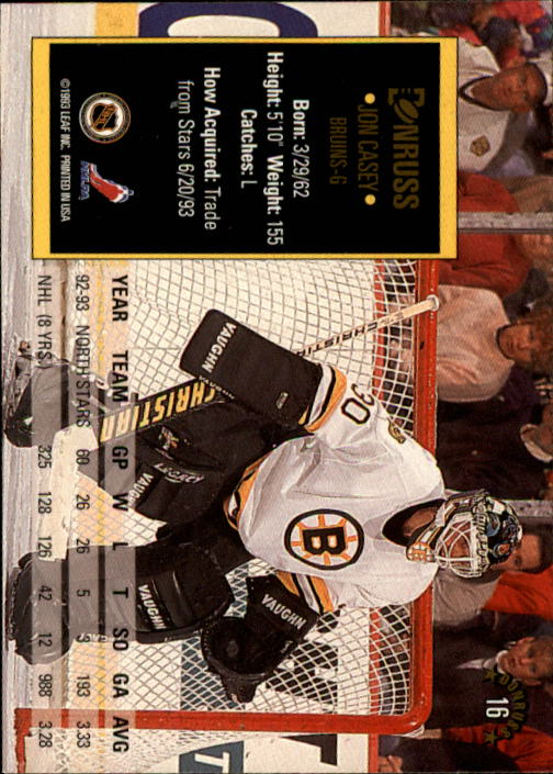 1993-94-Donruss-Hockey-Cards-1-250-Pick-From-List thumbnail 33