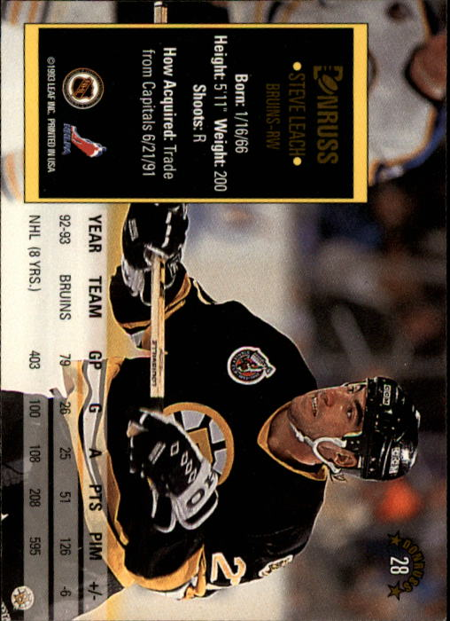 1993-94-Donruss-Hockey-Cards-1-250-Pick-From-List thumbnail 57