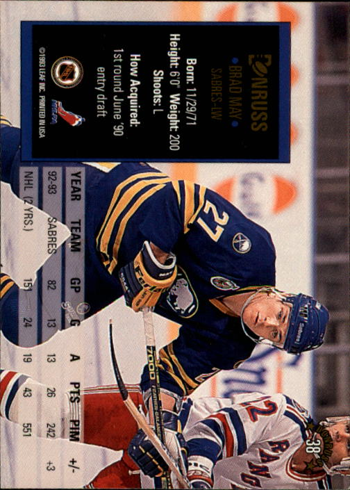 1993-94-Donruss-Hockey-Cards-1-250-Pick-From-List thumbnail 77