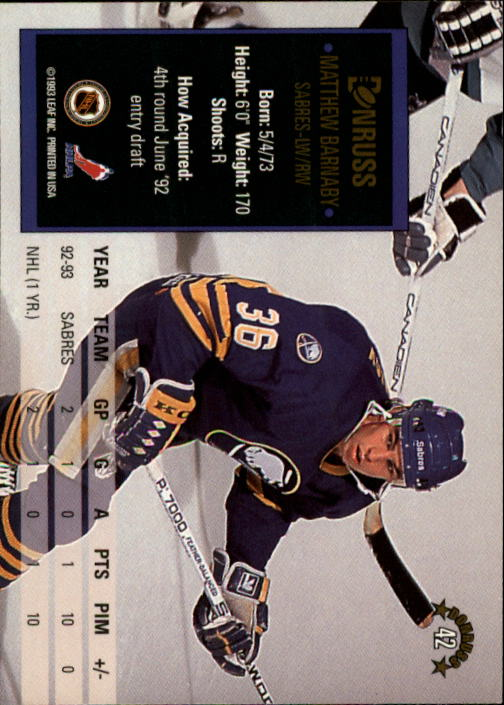 1993-94-Donruss-Hockey-Cards-1-250-Pick-From-List thumbnail 85