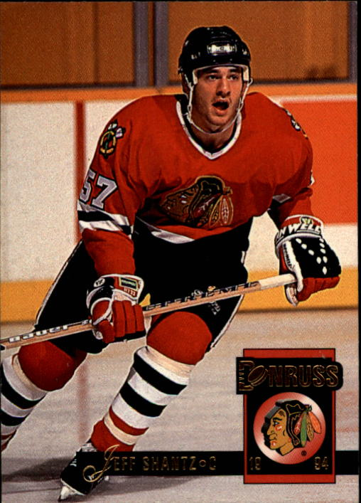 1993-94 Donruss #75 Jeff Shantz RC