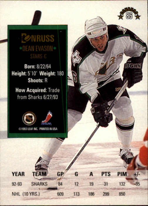 1993-94-Donruss-Hockey-Cards-1-250-Pick-From-List thumbnail 173