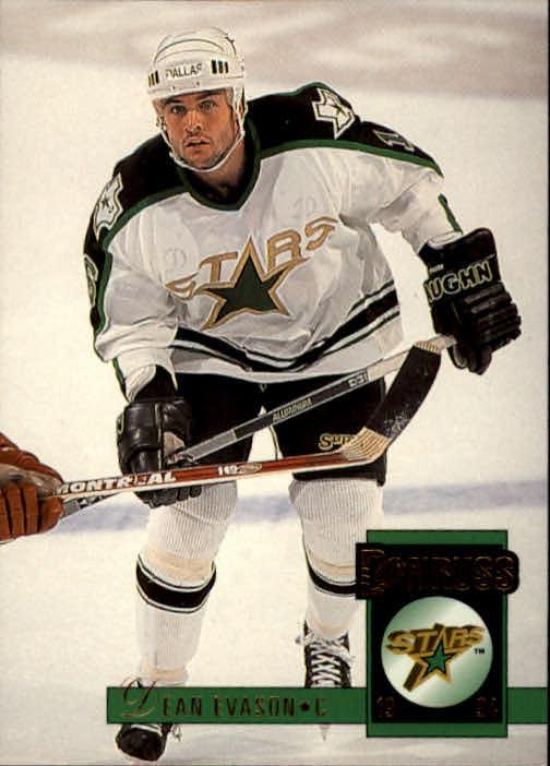 1993-94 Donruss #86 Dean Evason
