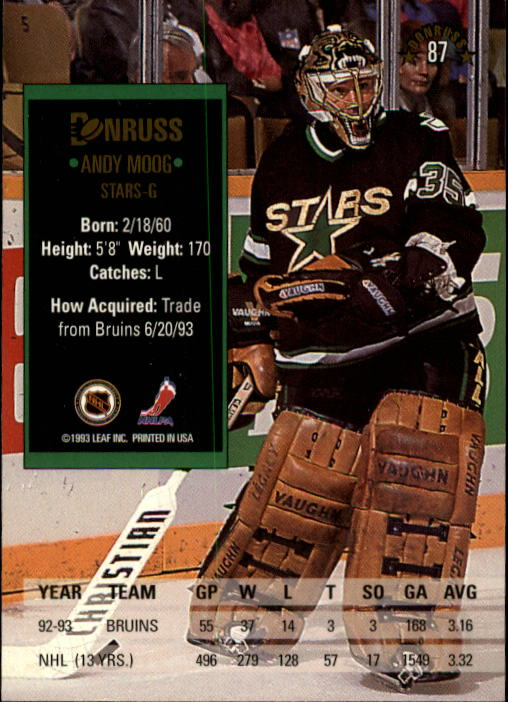 1993-94-Donruss-Hockey-Cards-1-250-Pick-From-List thumbnail 175