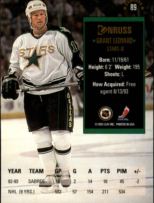 1993-94-Donruss-Hockey-Cards-1-250-Pick-From-List thumbnail 179