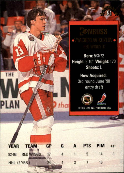 1993-94-Donruss-Hockey-Cards-1-250-Pick-From-List thumbnail 183