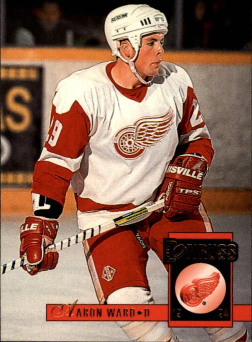 1993-94 Donruss #93 Aaron Ward RC