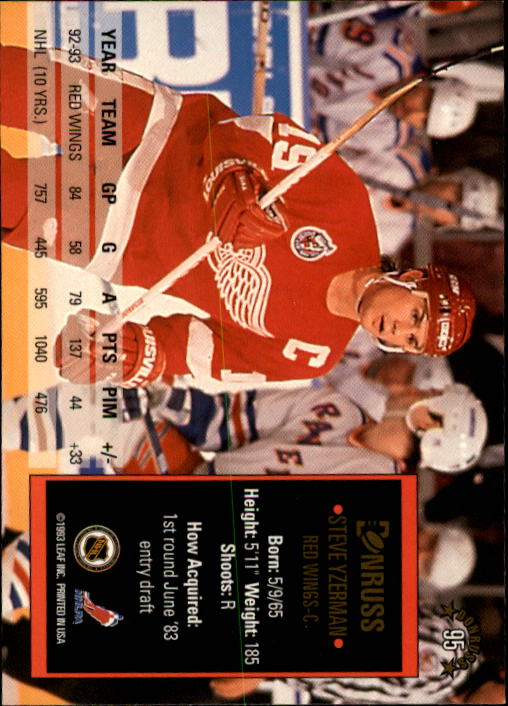 1993-94-Donruss-Hockey-Cards-1-250-Pick-From-List thumbnail 191