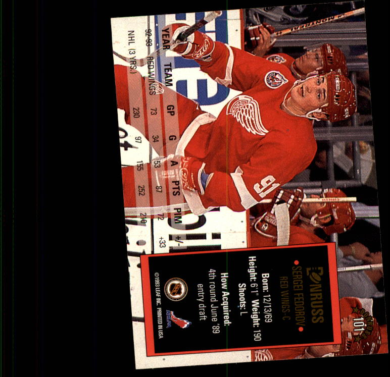 1993-94-Donruss-Hockey-Cards-1-250-Pick-From-List thumbnail 203
