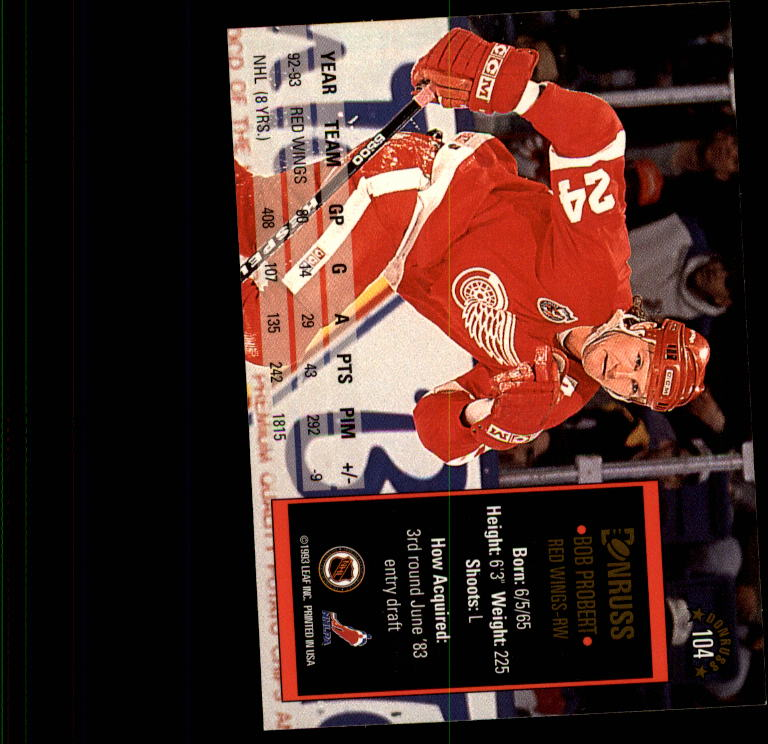 1993-94-Donruss-Hockey-Cards-1-250-Pick-From-List thumbnail 209