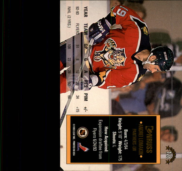1993-94-Donruss-Hockey-Cards-1-250-Pick-From-List thumbnail 257