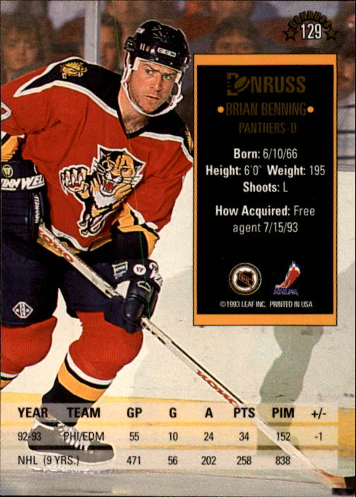1993-94-Donruss-Hockey-Cards-1-250-Pick-From-List thumbnail 259