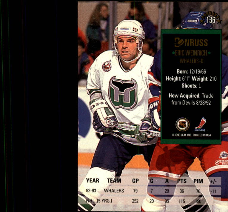 1993-94-Donruss-Hockey-Cards-1-250-Pick-From-List thumbnail 273