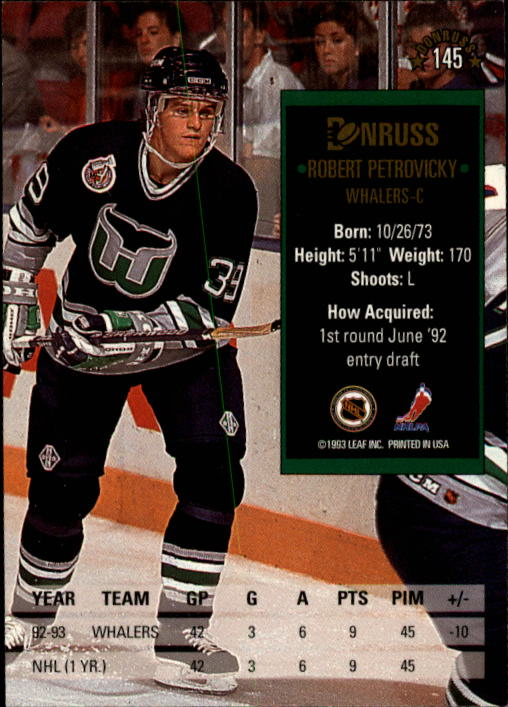 1993-94-Donruss-Hockey-Cards-1-250-Pick-From-List thumbnail 291