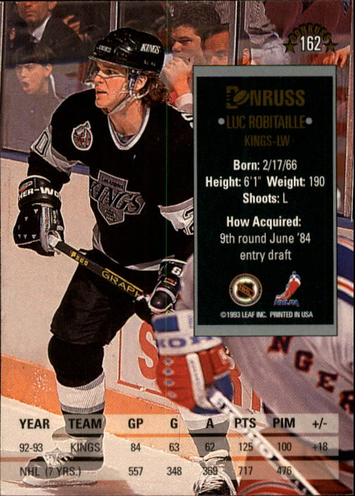 1993-94-Donruss-Hockey-Cards-1-250-Pick-From-List thumbnail 325