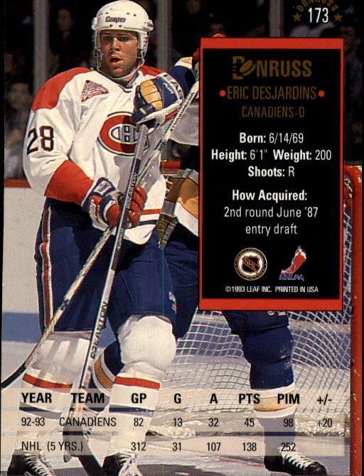 1993-94-Donruss-Hockey-Cards-1-250-Pick-From-List thumbnail 347