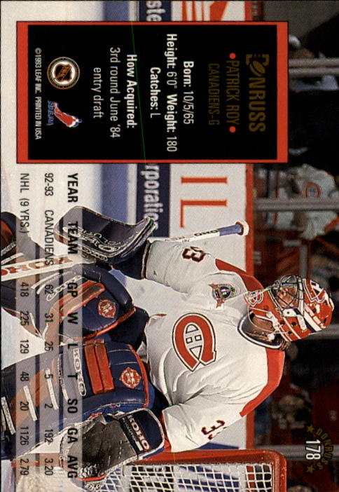1993-94-Donruss-Hockey-Cards-1-250-Pick-From-List thumbnail 357