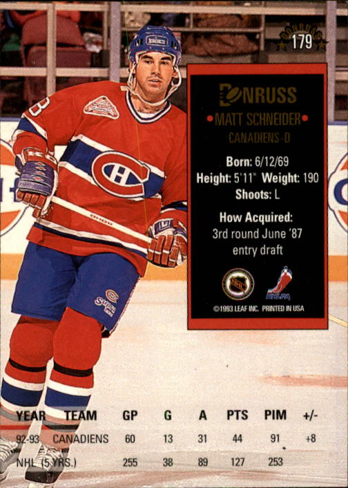 1993-94-Donruss-Hockey-Cards-1-250-Pick-From-List thumbnail 359