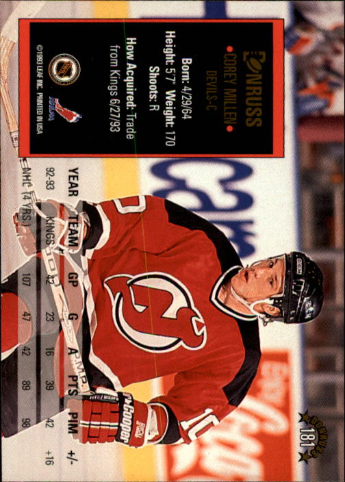 1993-94-Donruss-Hockey-Cards-1-250-Pick-From-List thumbnail 363