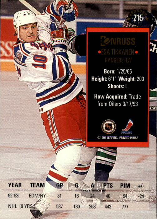 1993-94-Donruss-Hockey-Cards-1-250-Pick-From-List thumbnail 431