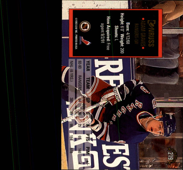 1993-94-Donruss-Hockey-Cards-1-250-Pick-From-List thumbnail 439