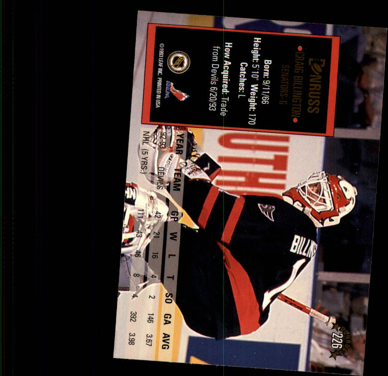 1993-94-Donruss-Hockey-Cards-1-250-Pick-From-List thumbnail 453