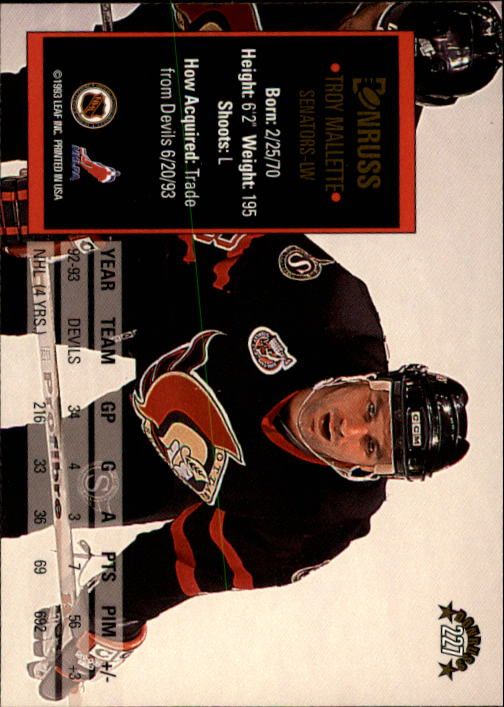 1993-94-Donruss-Hockey-Cards-1-250-Pick-From-List thumbnail 455