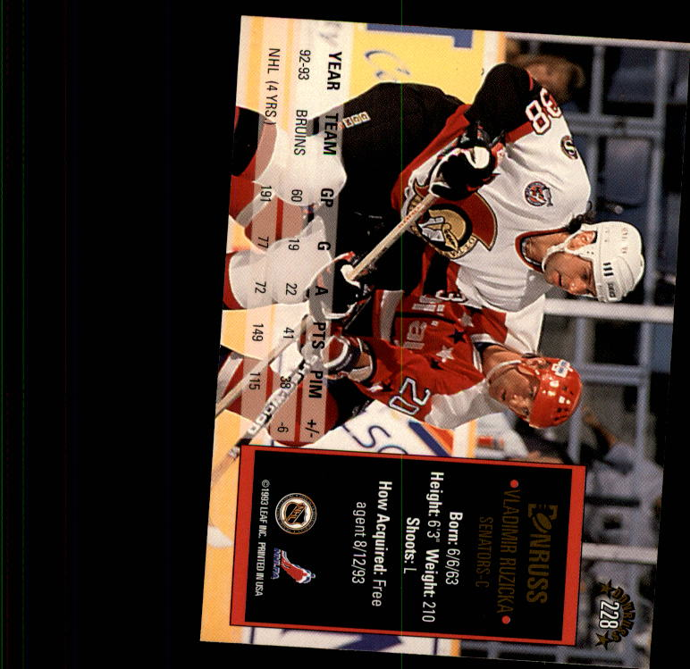 1993-94-Donruss-Hockey-Cards-1-250-Pick-From-List thumbnail 457