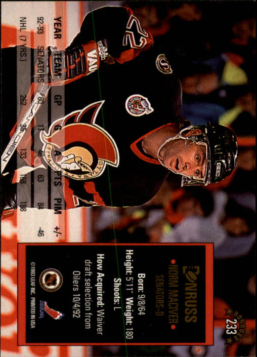1993-94-Donruss-Hockey-Cards-1-250-Pick-From-List thumbnail 467
