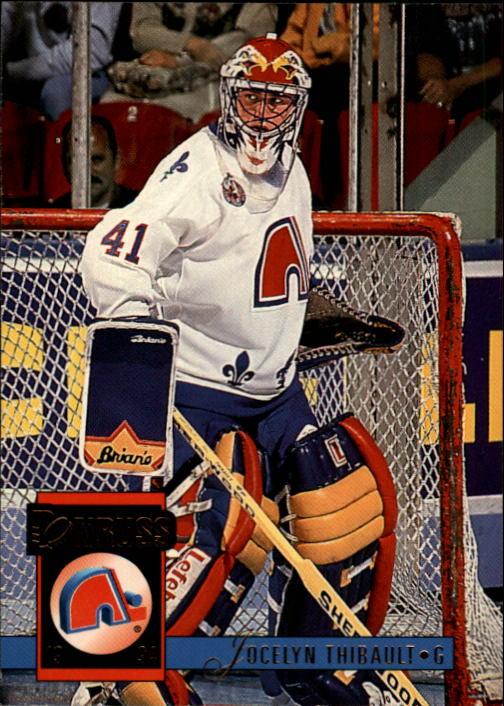 1993-94 Donruss #275 Jocelyn Thibault RC