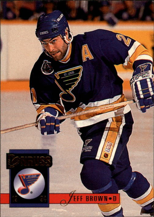 1993-94 Donruss #293 Jeff Brown