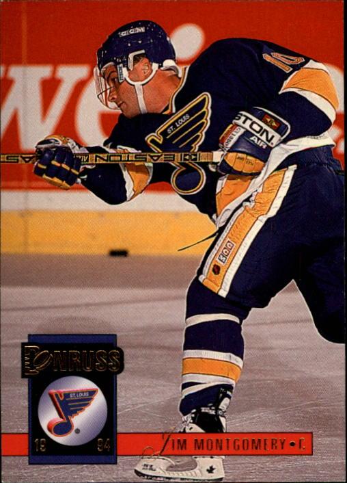 1993-94 Donruss #300 Jim Montgomery RC