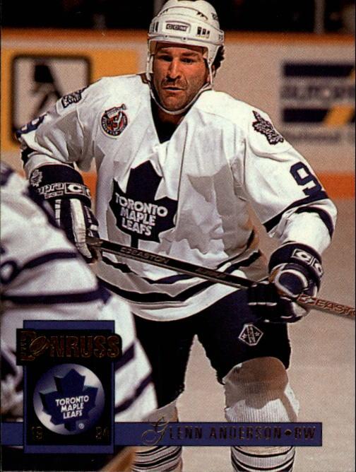 1993-94 Donruss #340 Glenn Anderson