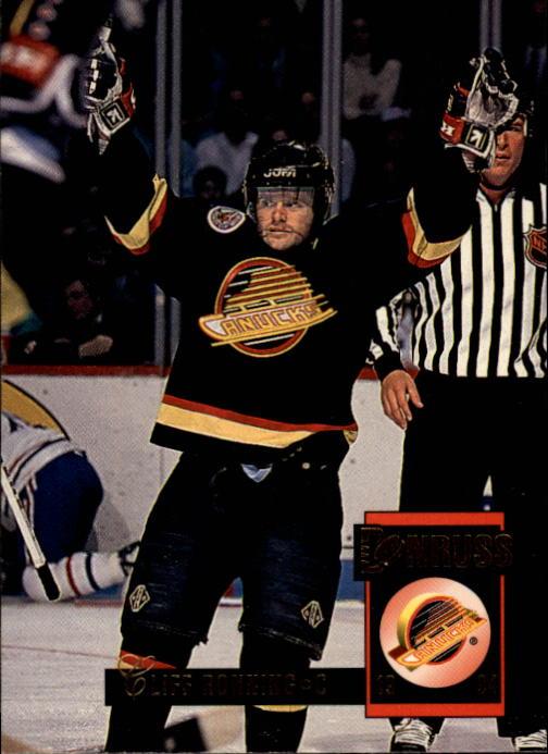1993-94 Donruss #357 Cliff Ronning
