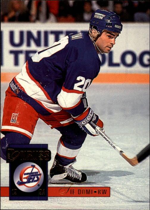 1993-94 Donruss #381 Tie Domi