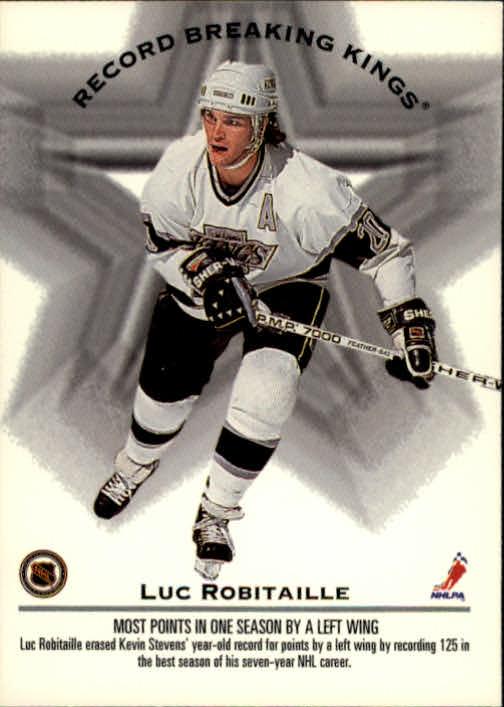1993-94 Donruss #395 W.Gretzky/L.Robitaille RB