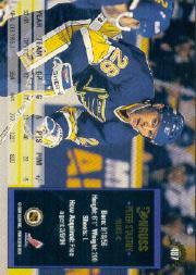 1993-94 Donruss #487 Peter Stastny back image