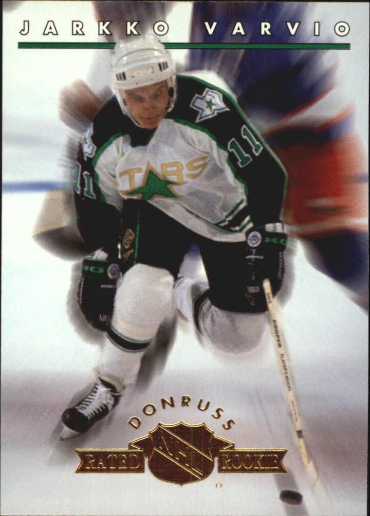 1993-94 Donruss Rated Rookies #6 Jarkko Varvio