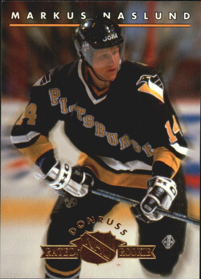 1993-94 Donruss Rated Rookies #8 Markus Naslund