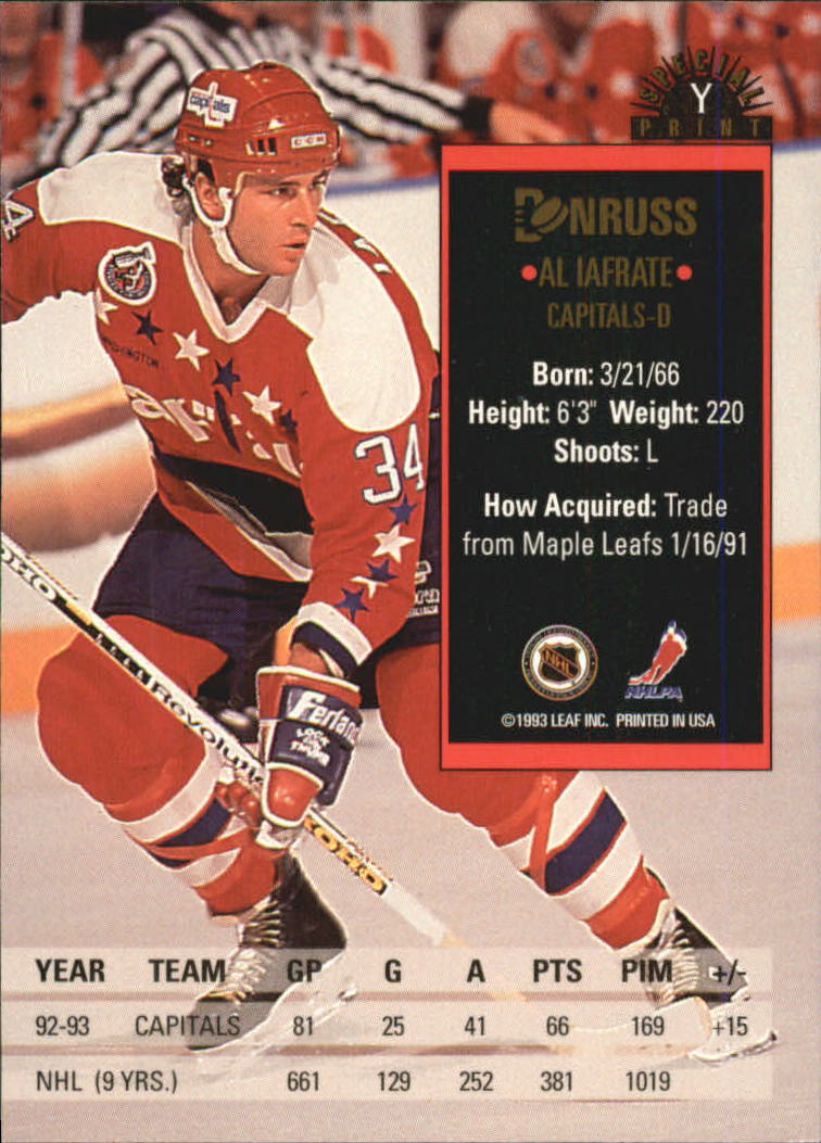 1993-94-Donruss-Hockey-Special-Print-Singles-Pick-Your-Cards